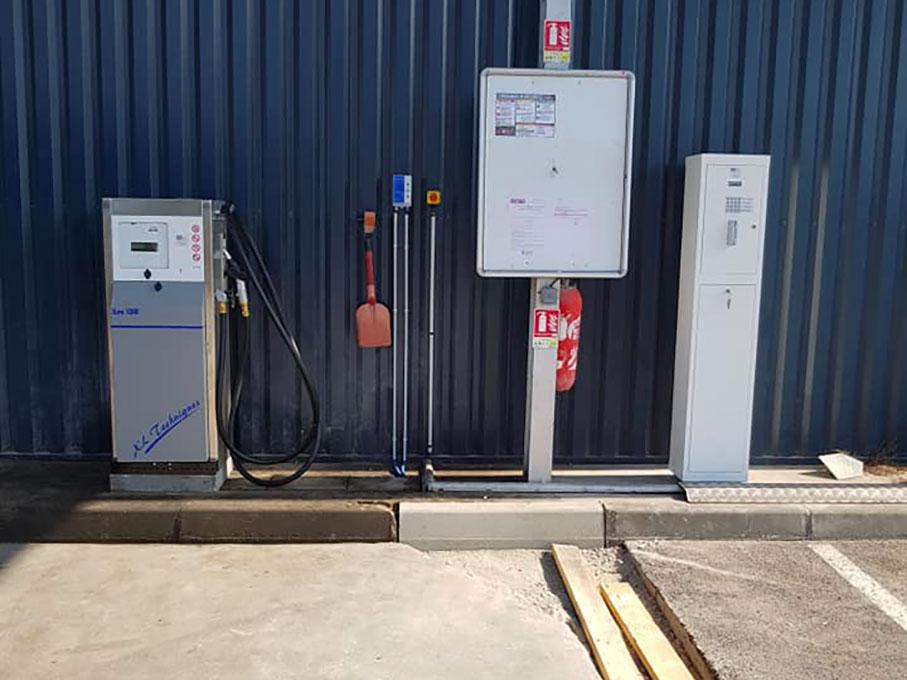 Système automatique de gestion des carburants