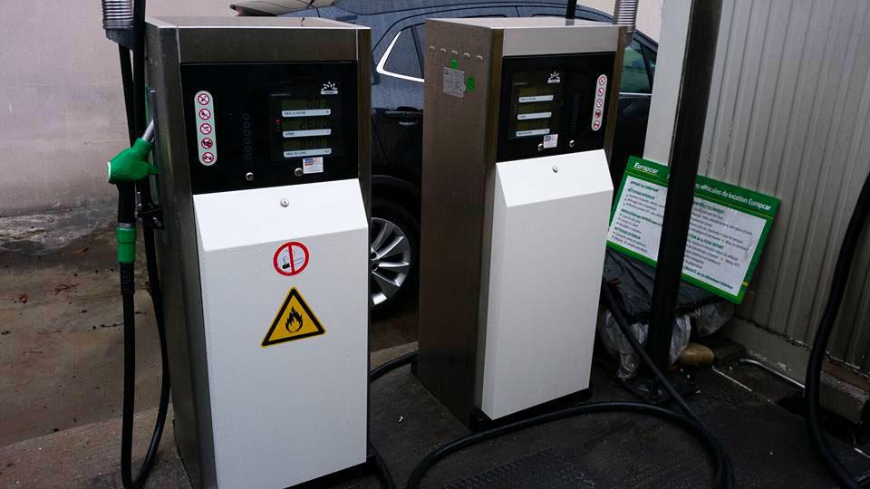 réalisation de station carburant