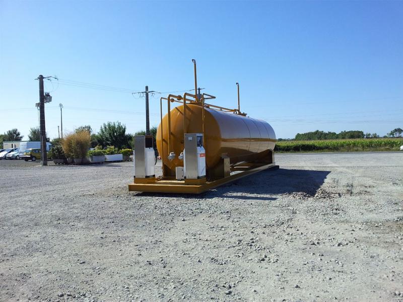 Cuves à carburants > Cuve aérienne LAFON + distributeur GO & GNR XL