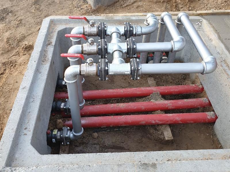Equipement pétrolier et tuyauterie > Réseau vannes de changement COTINIERE