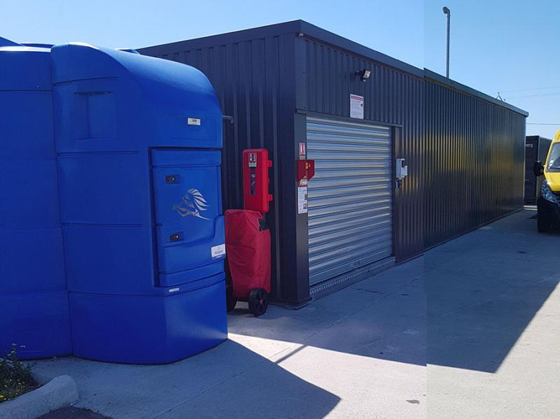 Station-service > Pack Ad Blue + container grand volume Gasoil