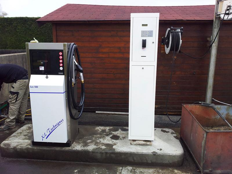 Gestion de carburants > Automate de gestion de carburant