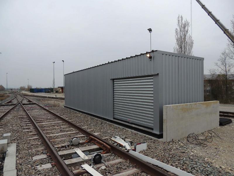 Station-service > Container BLOCALPS installé chez SNCF LGV, OUESTRAIL La Rochelle